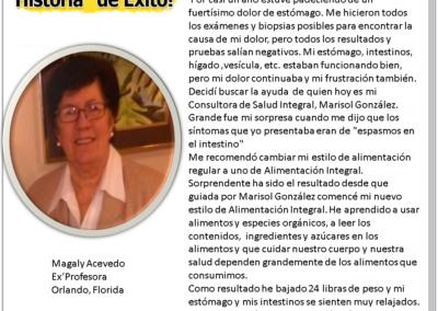 Testimonio de Magaly Acevedo