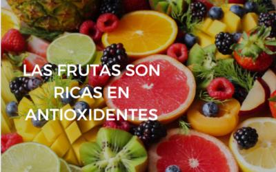 FRUTAS RICAS EN ANTIOXIDANTES
